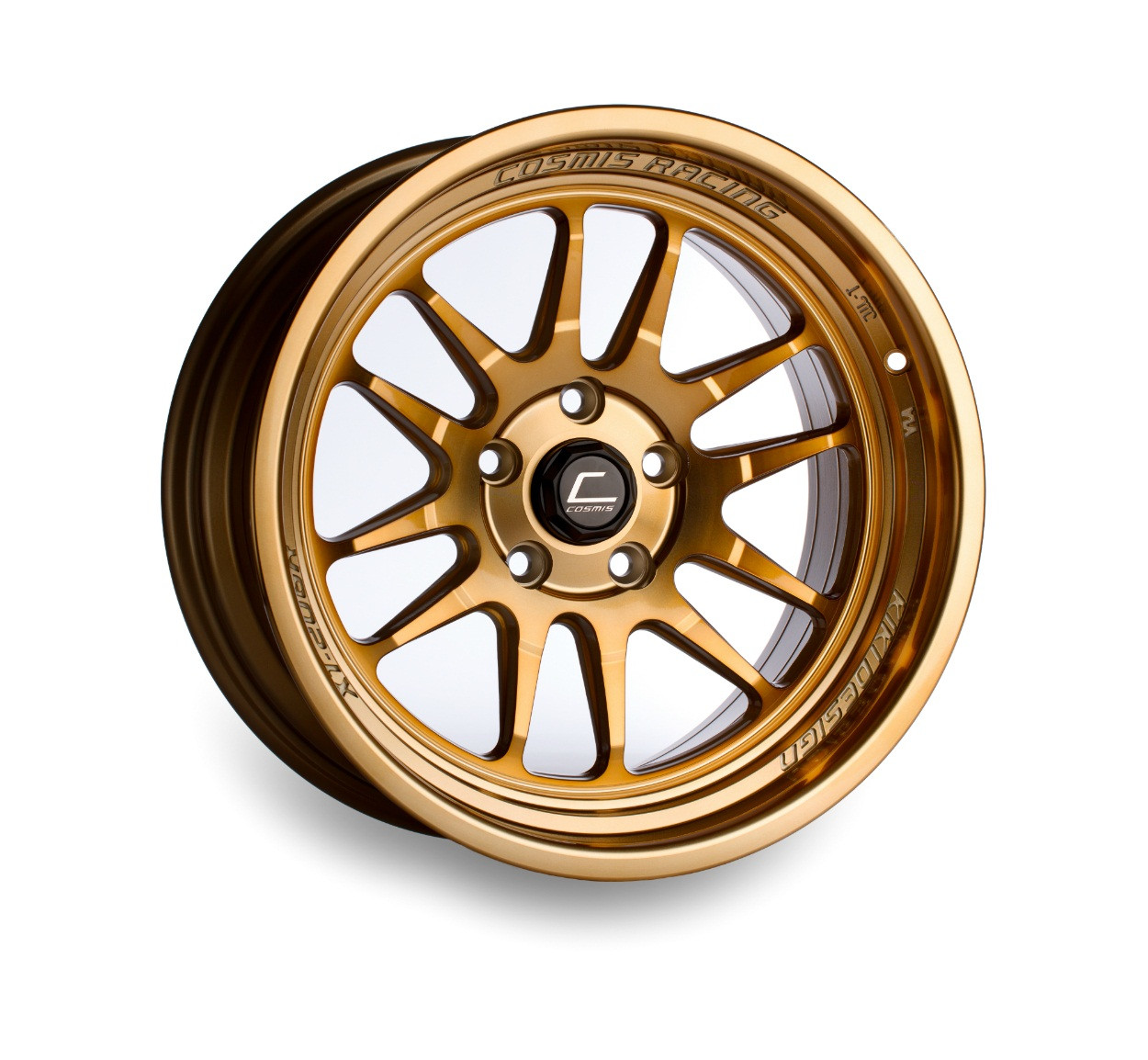 Cosmis Racing XT-206R Wheel in Hyper Bronze