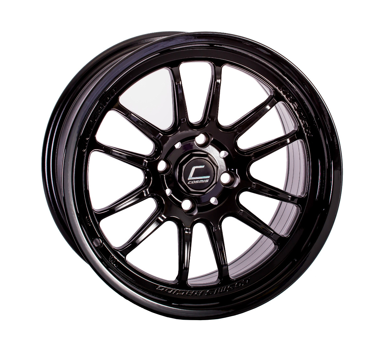 "Cosmis Racing XT-206R Wheel in 15x8"" - Black"