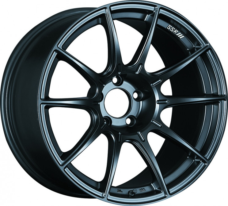 SSR GTX01 Wheel in Flat Black