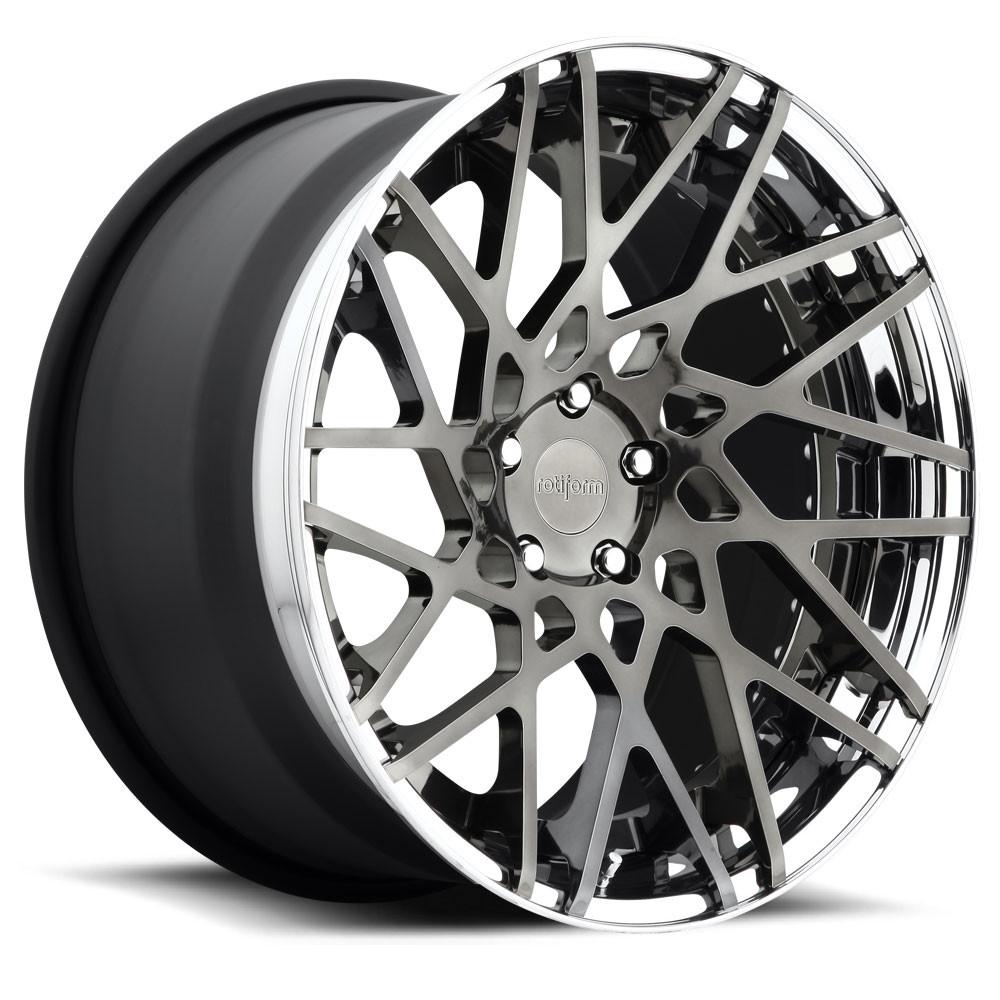 rotiform 3 piece f ed blq t wheel furious customs 2011 Acura TL Custom image 1