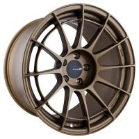 """Enkei NT03RR Wheel - 18x10.5"""" +15 5x114.3 Titanium Gold"""