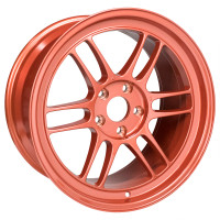 "Enkei RPF1 Wheel - 17x9"" +22 5x114.3 Orange"