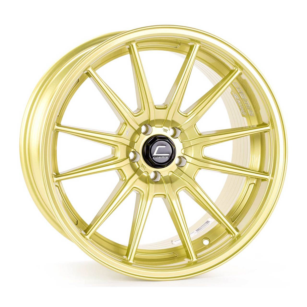 Gold Cosmis R1 Pro Wheel
