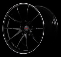 Volk Racing G25 Wheel - 20X10.0 +25 5x112 FORMULA SILVER / BLACK CLEAR