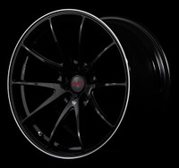 Volk Racing G25 D-BK Wheel - 20X10.0 +40 5x114.3 PRESSED BLACK CLEAR