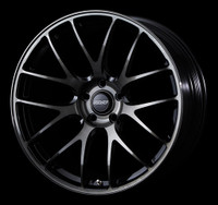 Volk Racing G27 PROGRESSIVE MODEL Wheel - 19X9.0 +25 5x112 PRESSED BLACK CLEAR