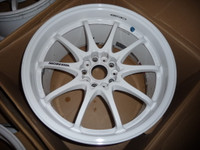 Volk Racing CE28N Wheel - 18X10.5 +18 5x114.3 DASH WHITE