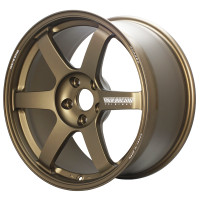 Volk Racing TE37 SAGA Wheel - 18X10.5 +15 5x114.3 BRONZE