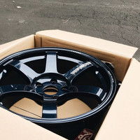 Volk Racing TE37 SAGA Wheel - 18X10.0 +34 5x120 MAG BLUE