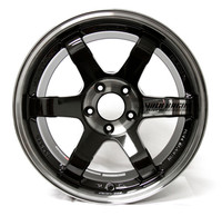 Volk Racing TE37SL Wheel - 18X9.5 +40 5x114.3 PRESSED DOUBLE BLACK