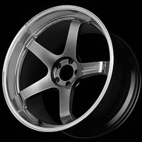 Advan GT PREMIUM VERSION Wheel - 20X9.0 +42 5x130 RACING HYPER BLACK & RING