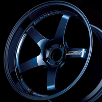 Advan GT PREMIUM VERSION Wheel - 20X9.0 +49 CENTERLOCK RACING TITANIUM BLUE & RING
