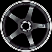 Advan GT Wheel - 18X9.5 +22 5x114.3 MACHINING & RACING METAL BLACK