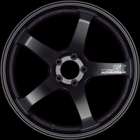 Advan GT Wheel - 18X9.5 +45 5x114.3 SEMI GLOSS BLACK