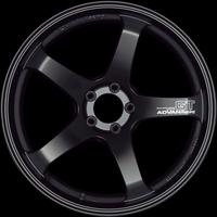 Advan GT Wheel - 18X9.5 +45 5x114.3 SEMI GLOSS BLACK