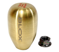 Blox Racing 5-Speed Billet Shift Knob - Bronze, 12x1.25mm