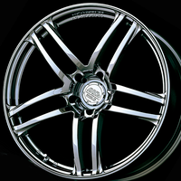 Advan MODEL T5 Wheel - 18X8.0 +38 5x114.3 B.CHROME