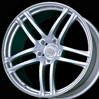 Advan MODEL T5 Wheel - 18X8.0 +42 5x108 SHINE SILVER