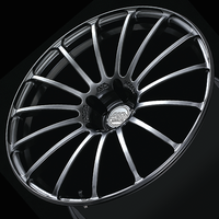 Advan MODEL F15 Wheel - 21X10.0 +35 5x120 PLATINUM BLACK