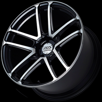 Advan MODEL F50 Wheel - 20X9.0 +43 5x130 GLOSS BLACK COMBI