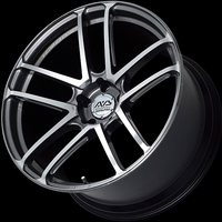Advan MODEL F50 Wheel - 20X12.0 +55 5x130 PLATINUM BLACK COMBI