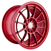 Enkei NT03+M Wheel - 18x9.5 +40 5x100 Competition Red