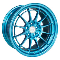Enkei NT03+M Wheel - 18x9.5 +40 5x114.3 Emerald Blue