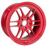 "Enkei RPF1 Wheel - 17x9"" +22 5x114.3 Competition Red"