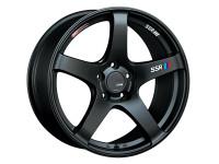 SSR GTV01 Wheel - 18x9.5 +22 5x114.3 Matte Black
