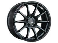 SSR GTV02 Wheel - 17x8.0 +45 5x114.3 Matte Black