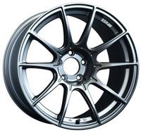 SSR GTX01 Wheel - 17x9 +38 5x100 Dark Silver