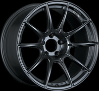 SSR GTX01 Wheel - 17x9 +38 5x100 Flat Black