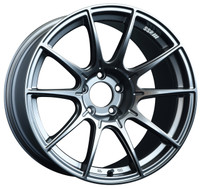 SSR GTX01 Wheel - 18x9.5 +22 5x114.3 Dark Silver