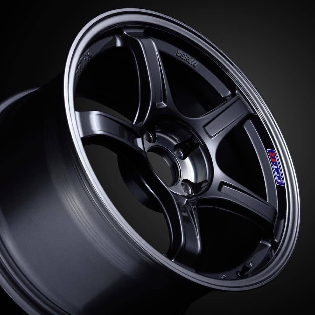 SSR GTX03 Wheel in Black Graphite