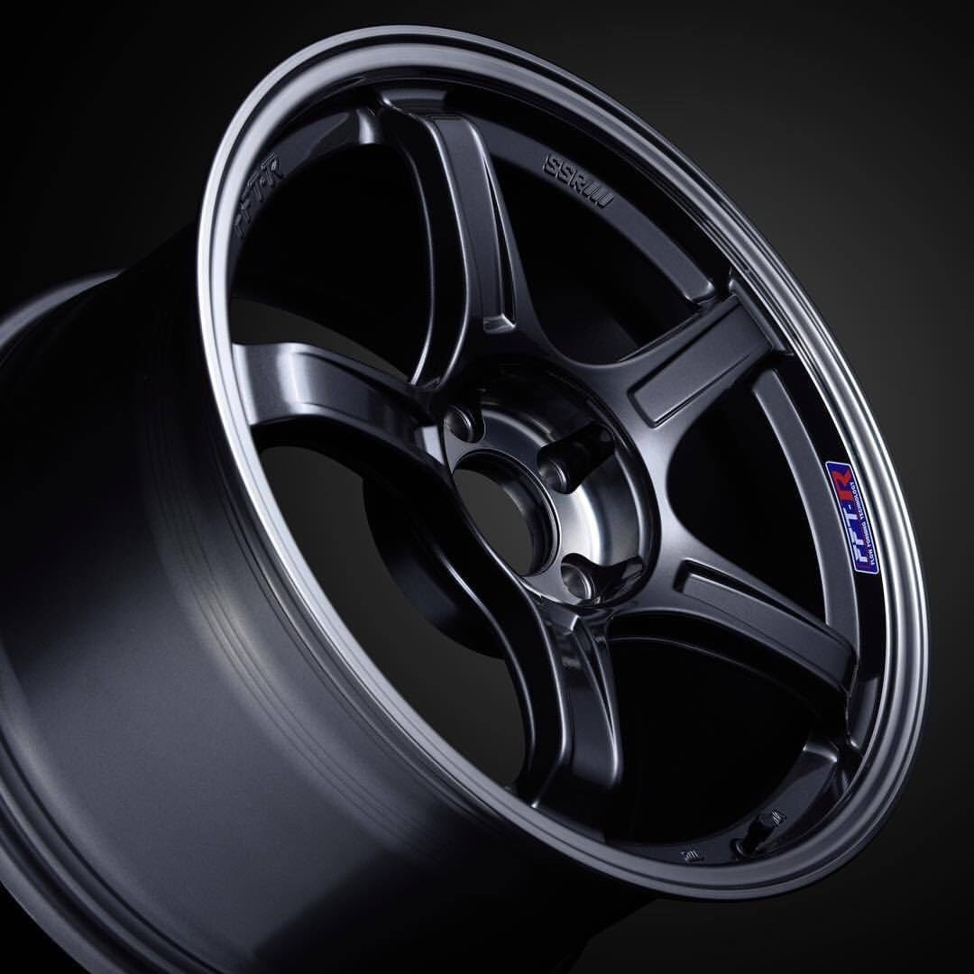 SSR GTX03 Wheel in Black Graphite
