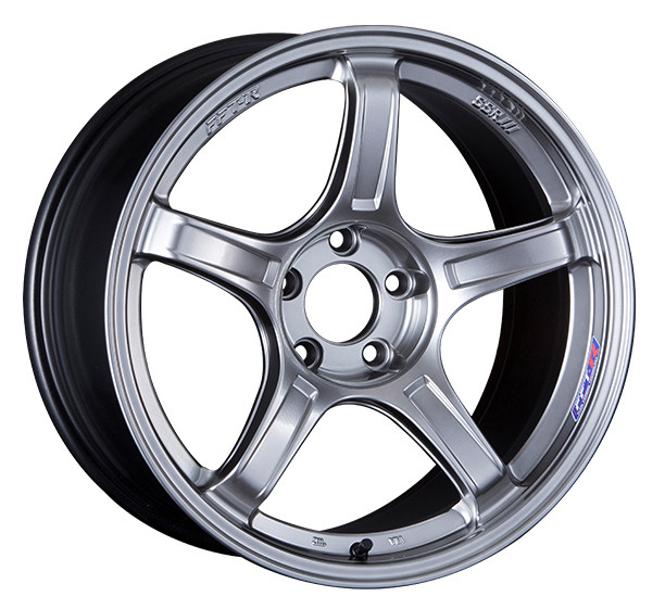 SSR GTX03 Wheel in Platinum Silver