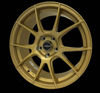"Buddy Club RS10 Wheel - 18x8"" +38  5x114.3 Gold"