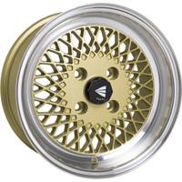 Enkei92 Classic Wheel - 15x7 +38 4x114.3 Gold