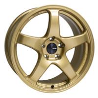 "Enkei PF05 Wheel - 15x8"" +25 4x100 Gold"
