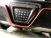 Carbon Fiber Rear LED Outlay - 2020 Toyota Supra A90