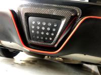 Carbon Fiber Rear LED Outlay - 2020 Toyota Supra A90