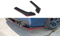 Maxton Design Rear Side Splitters - Subaru WRX STI 2014+