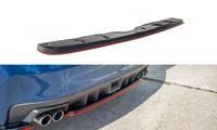 Maxton Design Rear Center Splitter - Subaru WRX STI 2014+