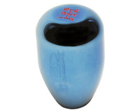 "Blox Racing ""Limited Series"" 6-Speed Billet Shift Knob - Electric Blue, 10x1.25mm"