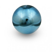 """Blox Racing 490 """"Limited Series"""" Spherical Shift Knob, 10x1.5 - Electric Blue"""