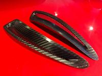 Carbon Fiber Hood Vents - 2020 Toyota Supra A90