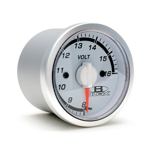 Blox Racing 52MM Voltage Gauge