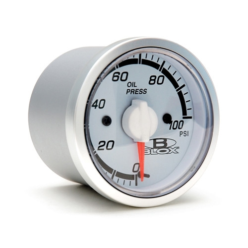 Blox Racing 52MM Oil Pressure Gauge