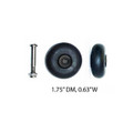 "Back Stationary Wheels: PWH-S6(1.75""DM/0.63""W) / A quantity of 1 is 2 wheels"