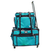 Use independently or stack on top of Tutto 4 wheels case